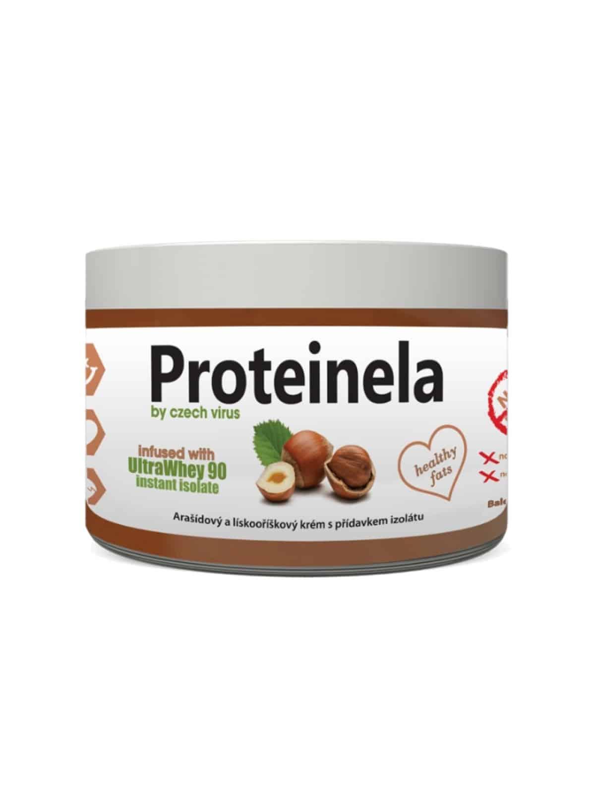 Proteinela Czech Virus: zdravá fitness nutella za skvelú cenu!