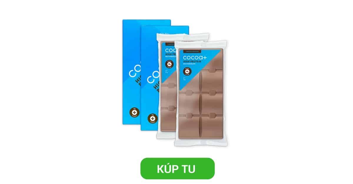 Proteínová čokoláda High Protein Milk Chocolate - Cocoa+