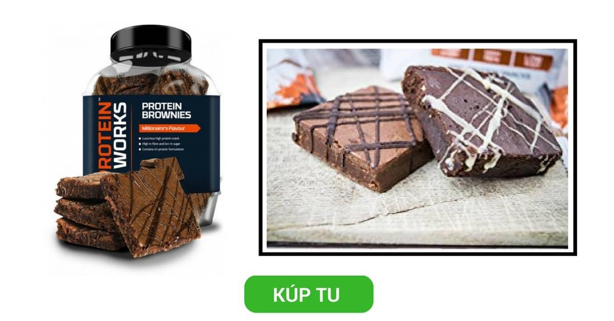 Proteínové Brownies koláčiky – TPW