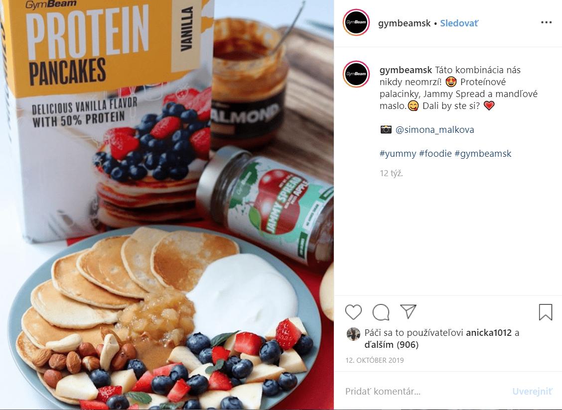 gymbeam pancake