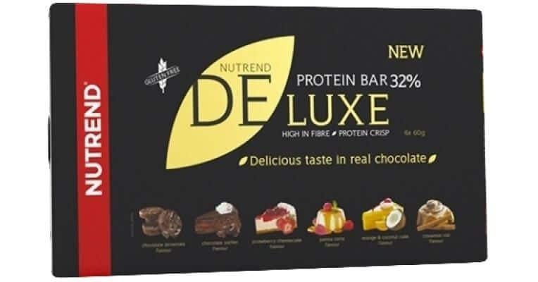 nutrend de luxe proteinova tycinka