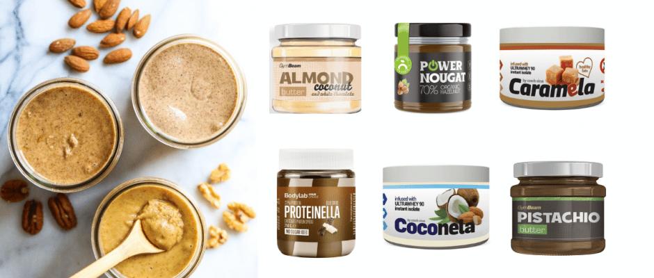 proteinove orechove natierky