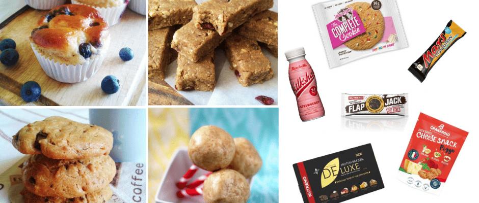 proteinove snacky a zdrave desiaty