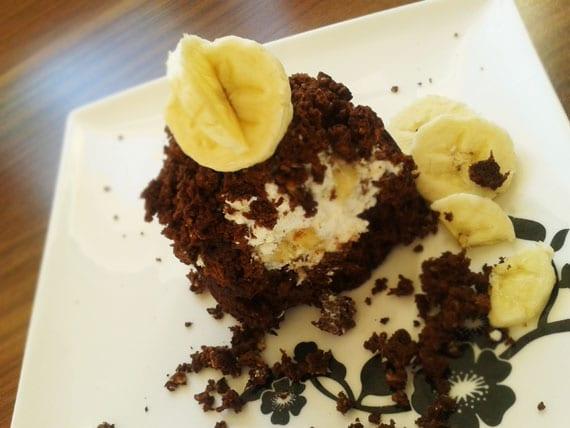 mini krtkova torta z mikrovlnky