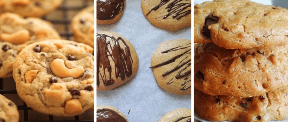 Zdrave fit sušienky z orechoveho masla